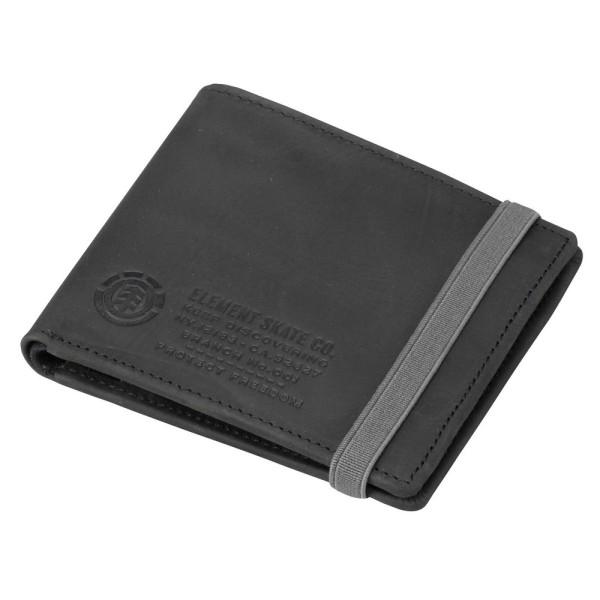 element - endure wallet black - schwarz - black - endure element - element wallets - element geldtaschen - element geldtasche - geldbörse element