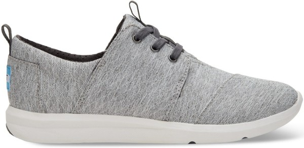 Tom's - Grey Diamond Melange Womens Del Rey - Damen - Sneaker - Grey Diamond Melange
