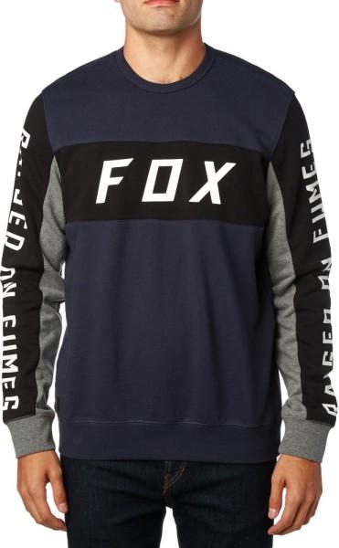 Fox - Rhodes Crew Fleece - midnight