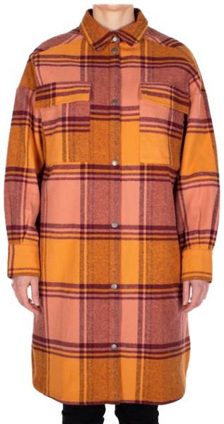 Checky Shirt Jacket