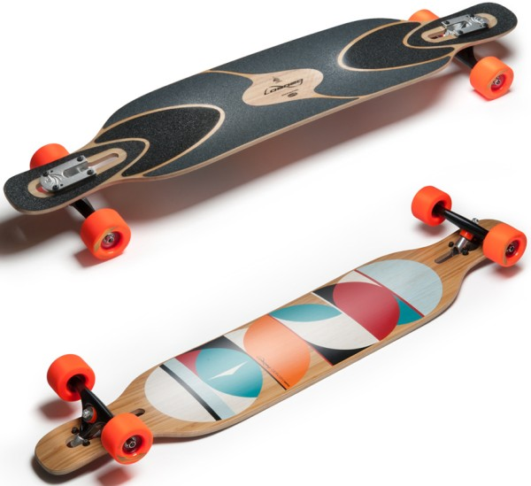 Dervish Sama 2.0 - Longboard - Loaded - White - Flex 1 - Flex 2 - Flex 3