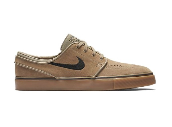 Nike - Air Zoom Stefan Janoski - brown khaki - braun - janoski sneaker - janoski schuhe von nike - nike janoski - nike sneaker braun