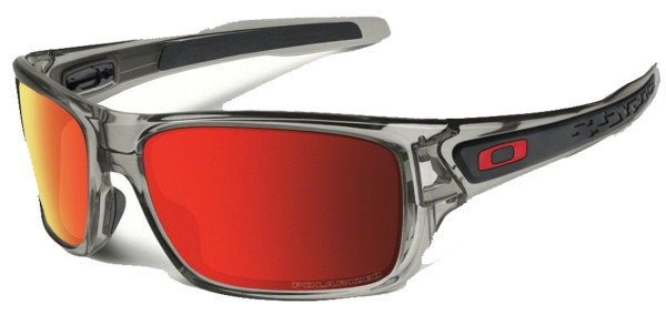 TURBINE - Sonnenbrille - Oakley - Grey Ink W-Ruby Iri