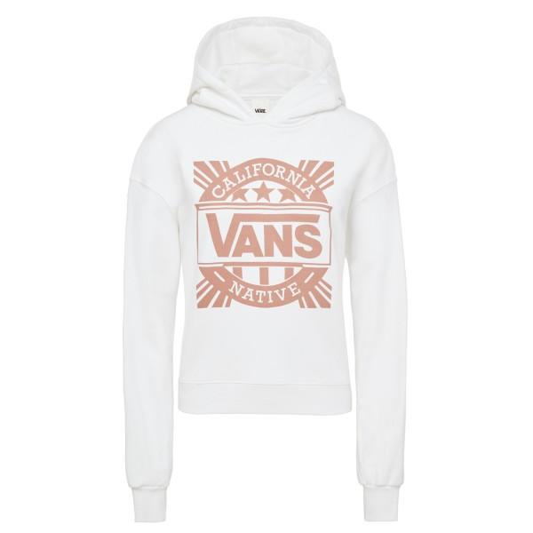 Cali Native Hoodie - Vans - weiß - Damen Pullover
