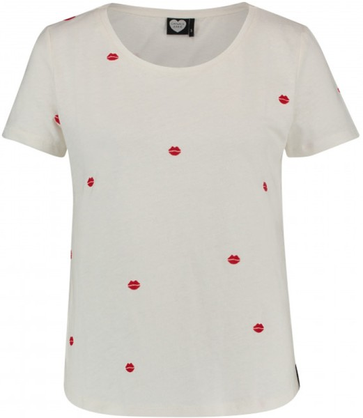 Catwalk Junkie - V-Day - Streetwear  -  Shirts & Tops  -  T-Shirts - offwhite