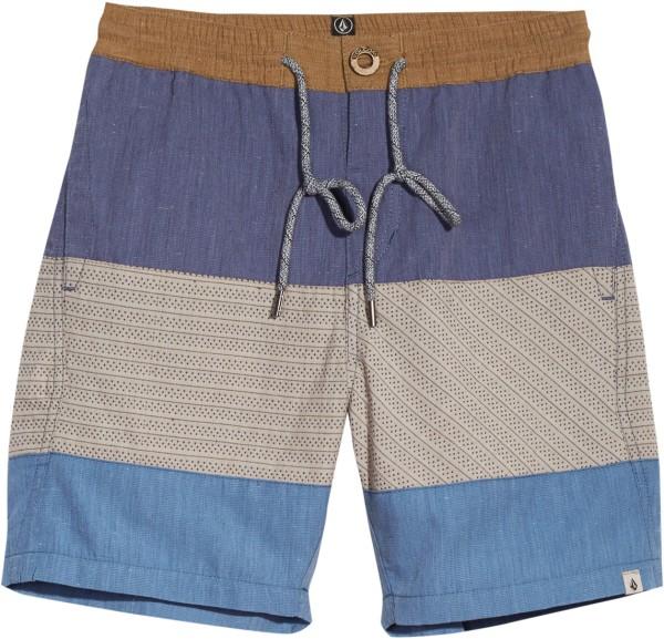 Volcom - Threezy - Beachwear - Badehosen - Boardshorts - deep blue
