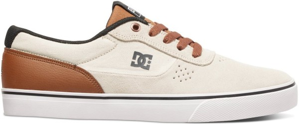 DC - Switch S - cream - adys300104 - switch sneaker - dc switch shoe - dc schuhe - dc skateschuhe - skateschuhe von dc shoes usa