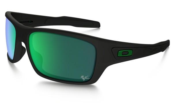Moto GP - Sonnenbrille - Oakley - Matte Black W-Jade i