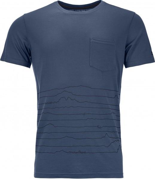Ortovox - 150 Cool Voice - Snowwear  -  Funktionswäsche  -  Techshirt Kurzarm - night blue