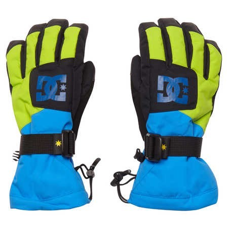 DC - Seger Over - Handschuh - Elec Blue Lemon