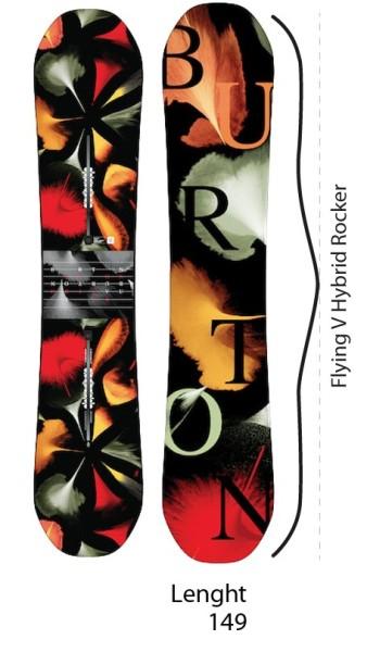 Burton - Deja VU FV - Boards & Co - Snowboards - Snowboards - All Mountain RC Hybrid - no color