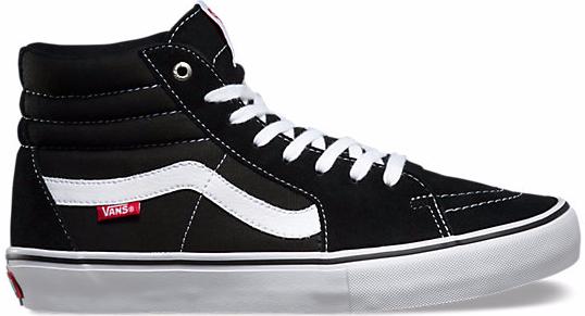 Vans - Sk8 Hi Pro - Schuhe - Sneakers - Sneakers High - black/white