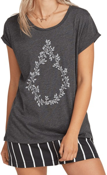 Radical Daze - Volcom - charcoal - Damen T-Shirt