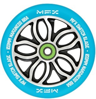 MGP - MFX RWilly Switchblade 120 mm - Rolle - Scooter - Wheel - blau