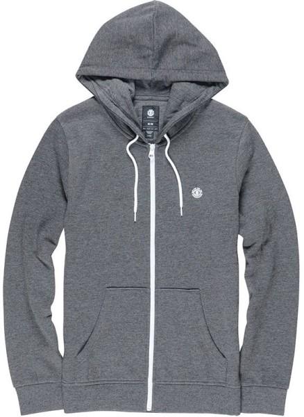 Element - Cornell ZH - Streetwear - Sweaters - Zip Hoodies - charcoal heathe