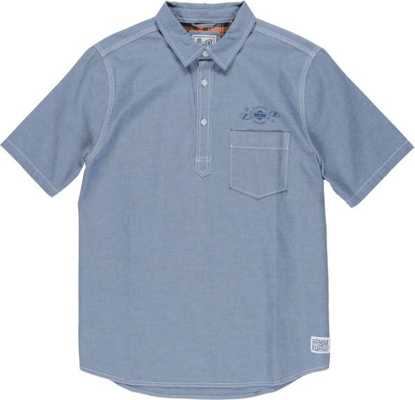 Element - Biner - Streetwear  -  Hemden  -  Hemden Kurzarm - Indigo