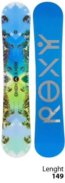 Roxy - XOXO PBTX - Snowboard - Freestyle Rocker - 149