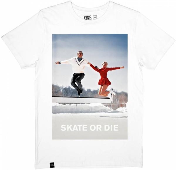 Dedicated - Stockholm T-Shirt Skate or Die - white