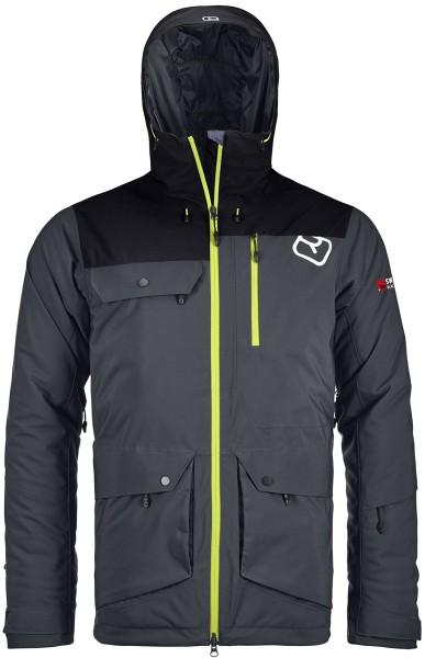 Ortovox - Swisswool Andermatt - Snowwear - Funktionsjacken - Ski-Tourenjacken - black steel