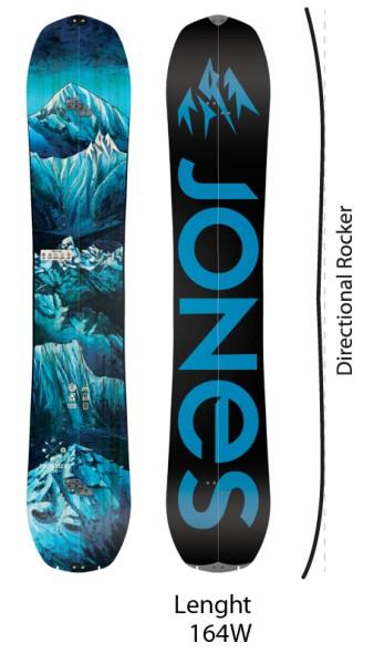 Frontier - Jones - nocolor - Snowboard