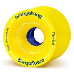 4 President ra - Wheels - Orangatang - Yellow