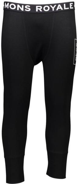 Mons Royale - Shaun off 3/4 Long John Folo - Streetwear - Unterwäsche - Lange Unterhosen - black