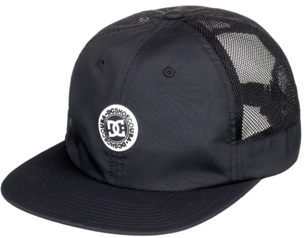 DC - Harsh Pocket - Accessories - Caps Mützen und Hüte - Caps - Snapback Cap - black