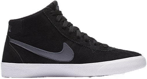 Nike - Bruin Hi - Schuhe - Sneakers - Sneakers High - black/dark grey white