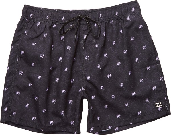 Billabong - Palmories Layback 16 - Herren - Shorts - Boardshort - Black