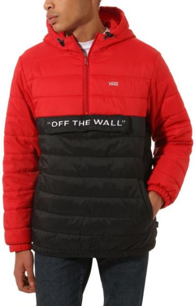 Vans - Carlon - Streetwear - Jacken - Wind und Übergangsjacken - Windbreaker - racing red-black