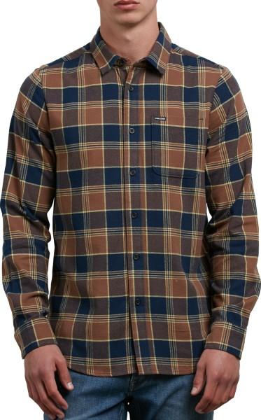 Volcom - Caden - Streetwear - Hemden - Hemden Langarm - indigo