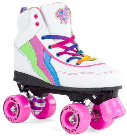 Rio Roller - Classic II - candi - rosa - weiß - rosa Rollschuhe - Rollschuhe - Rollschuhe candy - Unisex Rollschuhe - Rollschuhe Kids