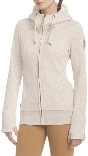 Ragwear - Liberty Organic - Streetwear - Sweaters - Zip Hoodies - beige melange