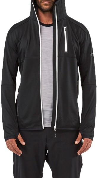 Mons Royale - Approach Tech Mid - Streetwear - Sweaters - Zip Hoodies - black