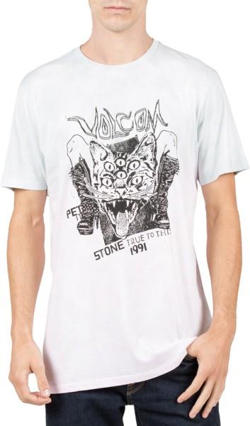 Volcom - PET IT S/S TEE - Herren - T-Shirt - White