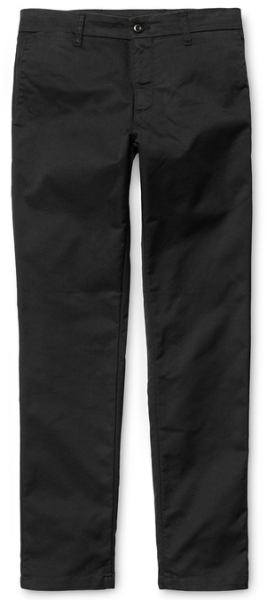 Carhartt - Sid Pamt - Slim Fit - Black rinsed