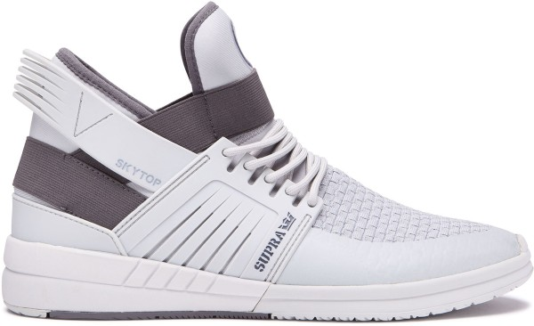 Supra - Skytop - Schuhe  -  Sneakers  -  Sneakers High - Cool Grey/Bone