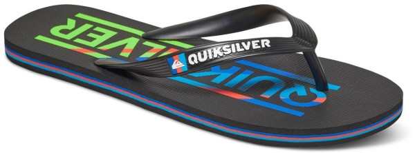 Quiksilver - Molokai Wordmark - black blue red