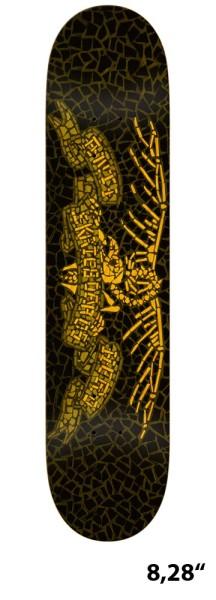 Antihero - Santi Muerte - Boards & Co - Skateboard - Skateboard Decks - Skatedecks - black