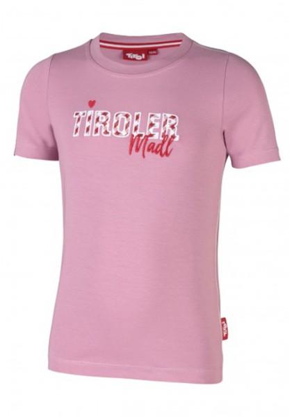 Tirol - Kinder T-Shirt Tiroler Madl - rosa - Streetwear - Shirts & Tops - T-Shirts