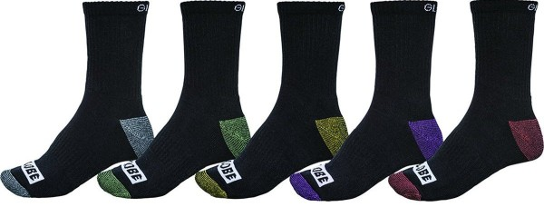 Globe - Romney Crew Socks 5 Pack 17 - Accessories - Socken - Socken - Assorted