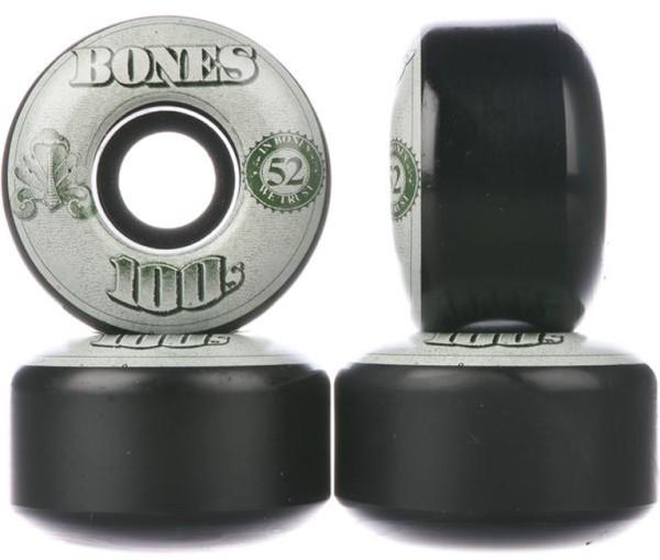 Bones - 100's OG #16 100A - Boards & Co  -  Longboard  -  Longboard Wheels  -  LB Rollen-Wheels - black