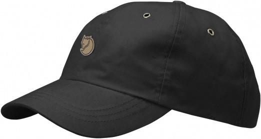 Fjällräven - Helags Cap - Flex Fit Cap - Dark Grey