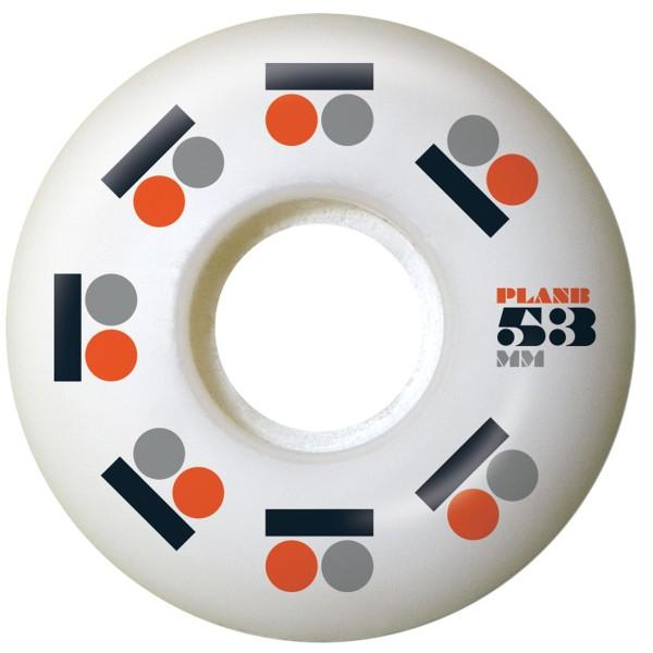 Plan B - Icon - Boards & Co - Skateboard - Skateboard Wheels - SB Rollen-Wheels - white