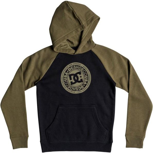 DC - Circle Star - Streetwear - Sweaters - Kapuzenpullis - burnt olive/black