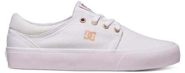 DC - Trase TX - Damen - Low Top Schuh - White/Gum