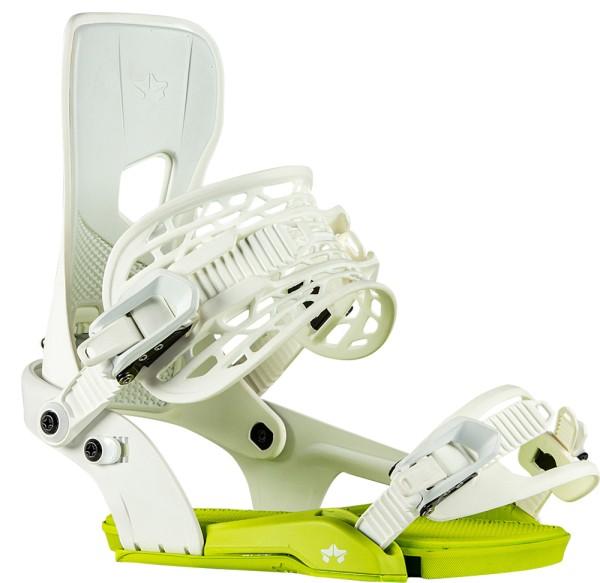 Crux - Rome - white - Snowboard Bindung