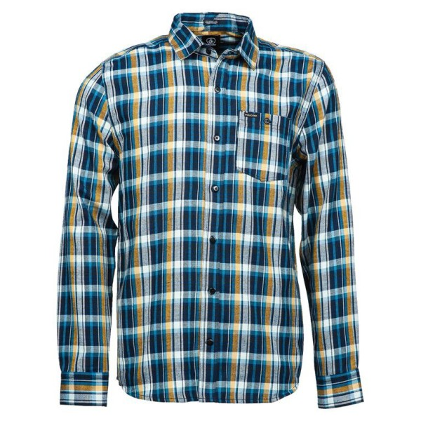 Volcom - Hemd Langarm - Bartlett Ls - Blue