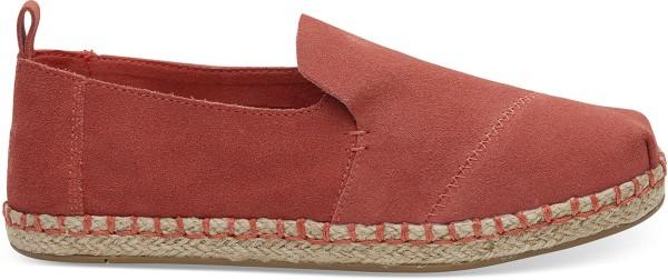 Toms - Apargata - Schuhe  -  Straßenschuhe  -  Slippers - hibiscus suede