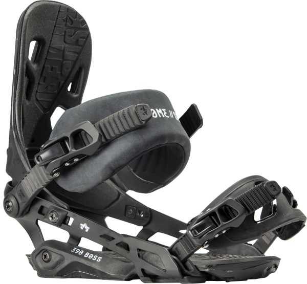 390 Boss - Rome SDS - Black - Snowboard Bindung